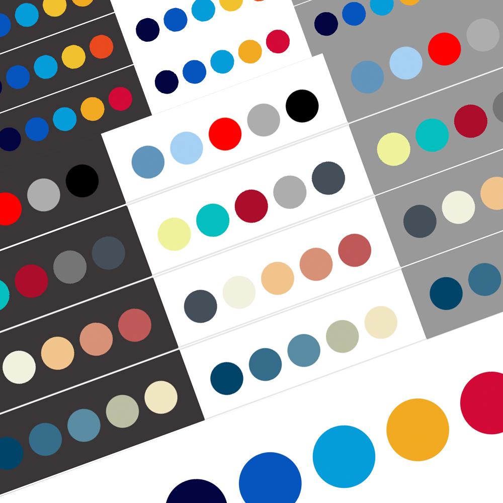 Eridan Color Palettes