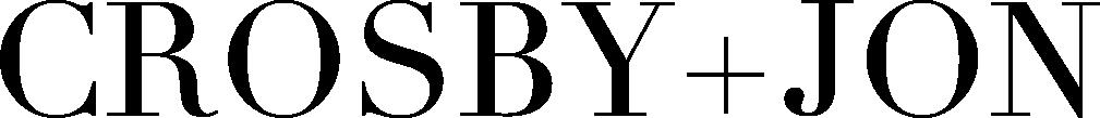 Crosby +Jon Logo