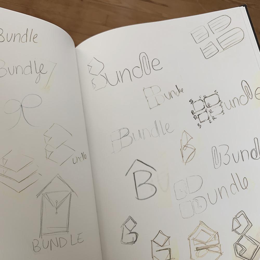 Bundle Logo Sketches